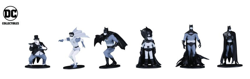 Batman: Black and White Wave 4