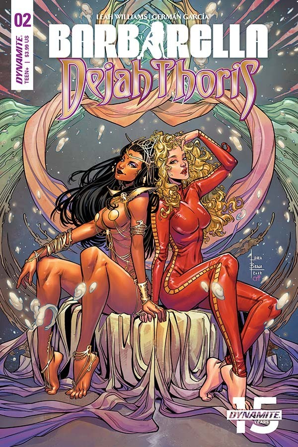 Barbarella/Dejah Thoris #2