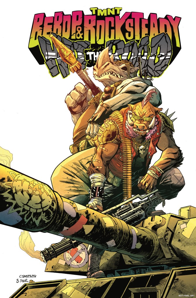Teenage Mutant Ninja Turtles: Bebop & Rocksteady Hit the Road