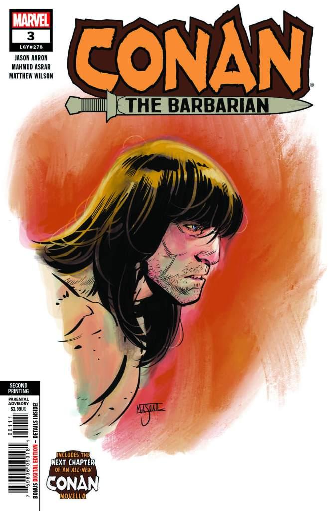 Conan the Barbarian #3 2nd printing