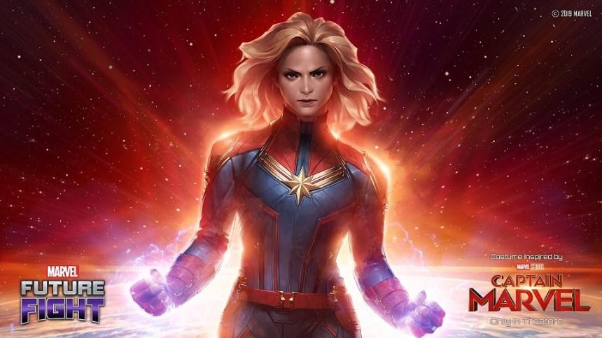 Marvel Future Fight Captain Marvel