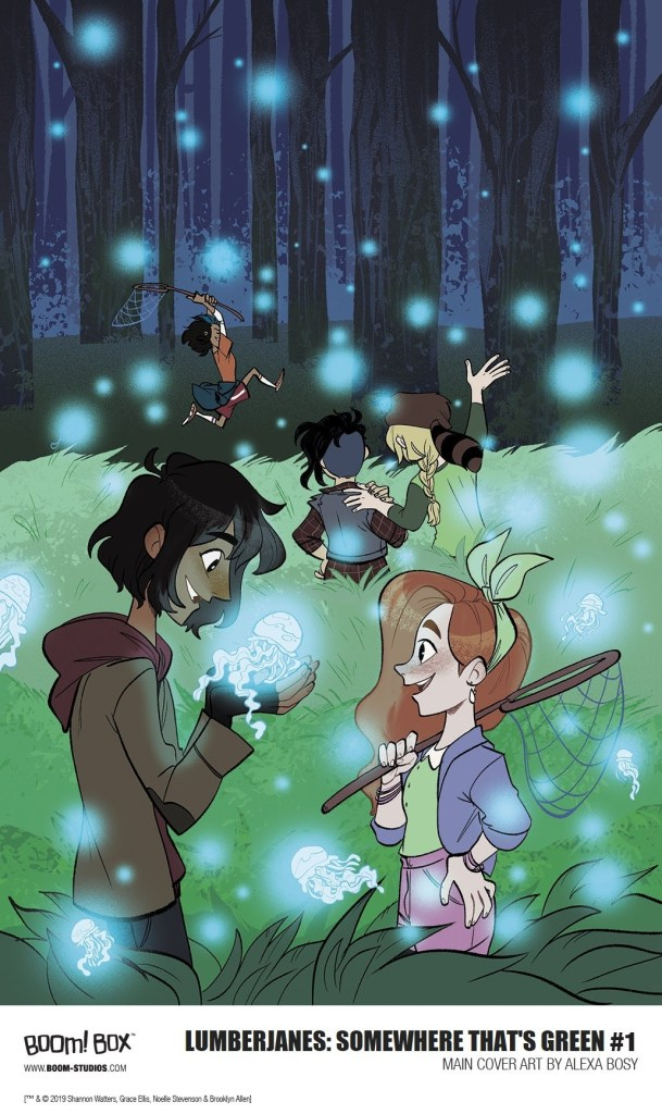 Lumberjanes: Somewhere That's Green #1 Alex Bosy Cover