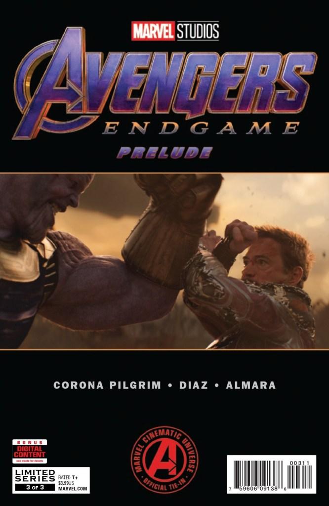 Marvel Studios Avengers: Endgame Prelude