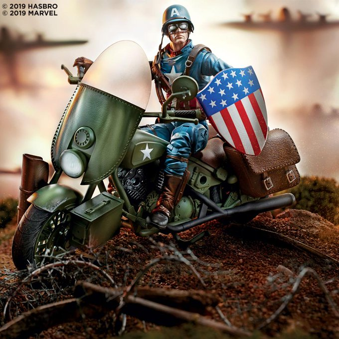 Marvel Legends Captain America WWII