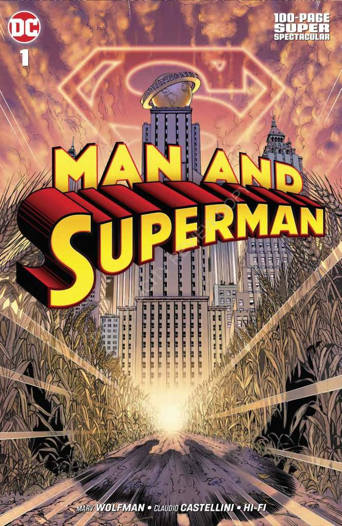 Man and Superman 100 Page Spectacular #1