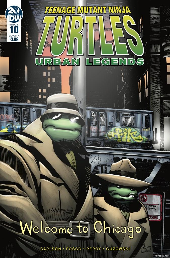 Teenage Mutant Ninja Turtles: Urban Legends #10