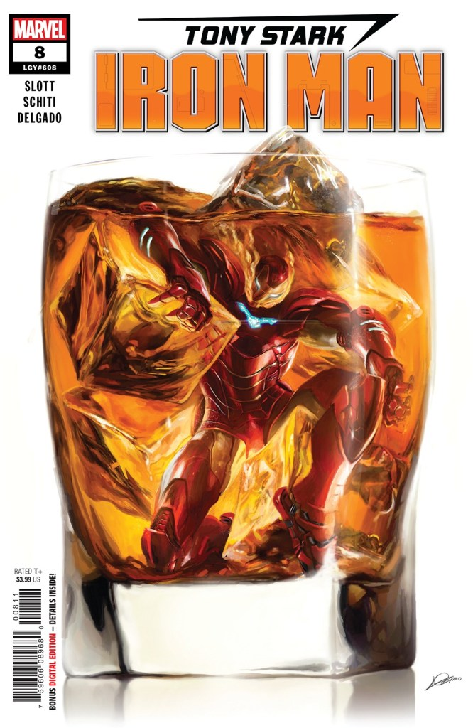 Tony Stark: Iron Man #8