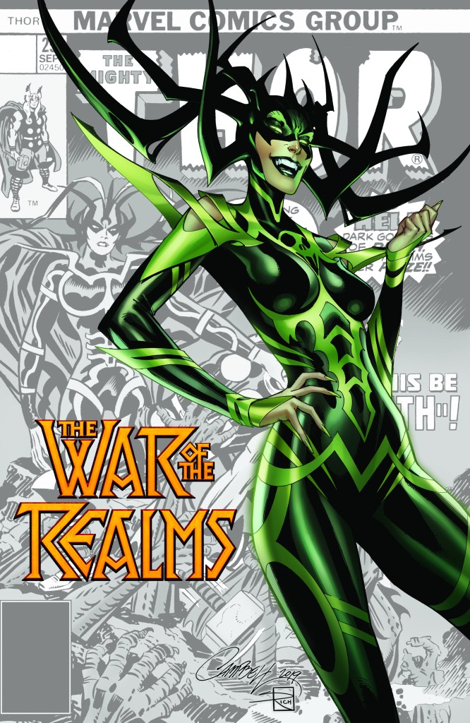 War of the Realms #1 J. Scott Campbell variant
