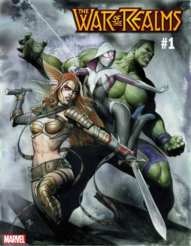 War of the Realms #1 Adi Granov Variant Cover