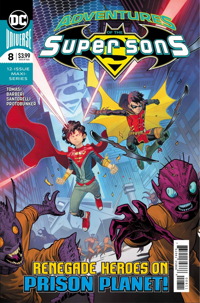 Adventures of the Super Sons #8 (of 12)