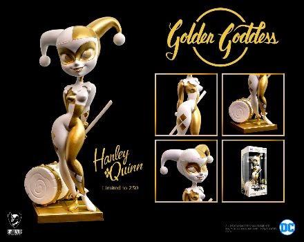 Golden Goddess Classic Harley Quinn