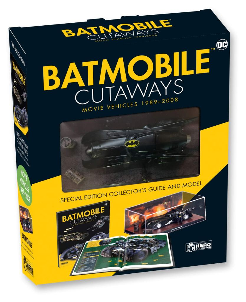 Batmobile Cutaways: The Movie Vehicles 1989-2012