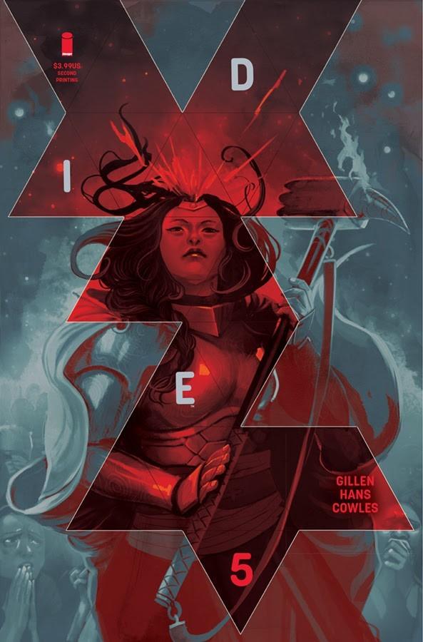 Die #5, second printing