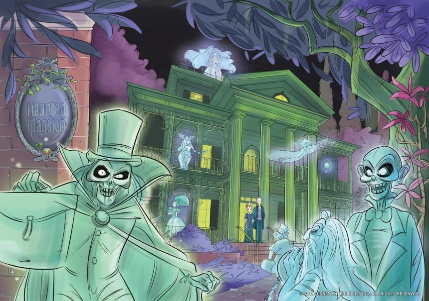 Haunted Mansion Original Graphic Novel