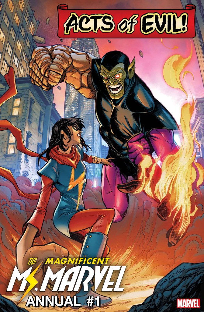 MS. MARVEL ANNUAL #1: MS. MARVEL VS. SUPER SKRULL