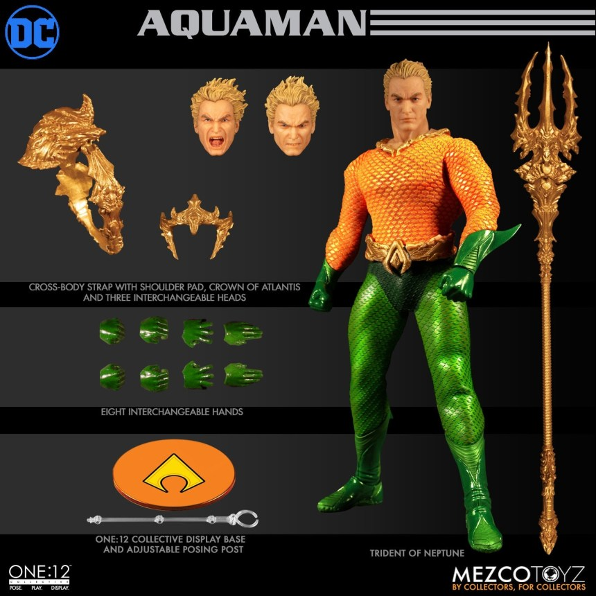 The One:12 Collective Aquaman