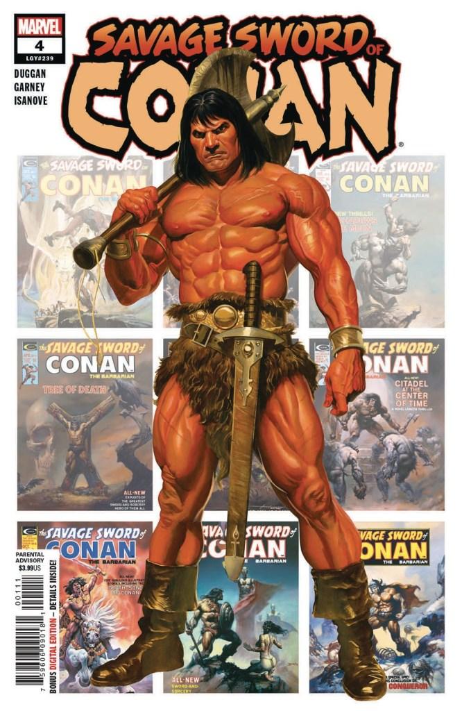 SAVAGE SWORD OF CONAN #4