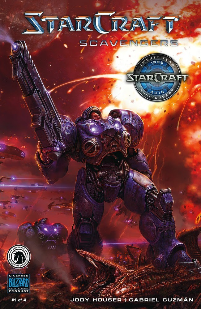 StarCraft: Scavengers #1 Convention Exclusive (Wei Wang)