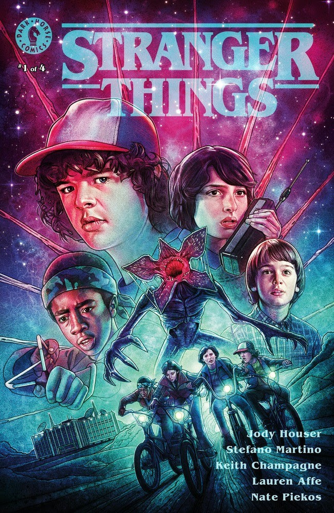 Stranger Things #1 Glow-in-the-Dark Convention Exclusive (Kyle Lambert)