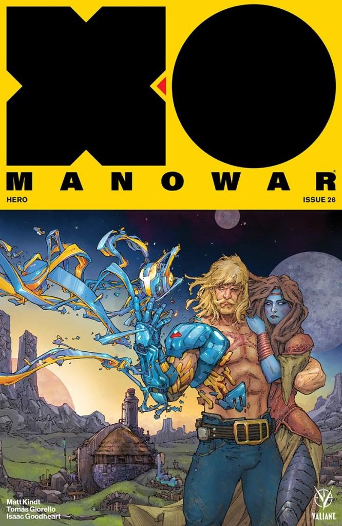 X-O MANOWAR #26