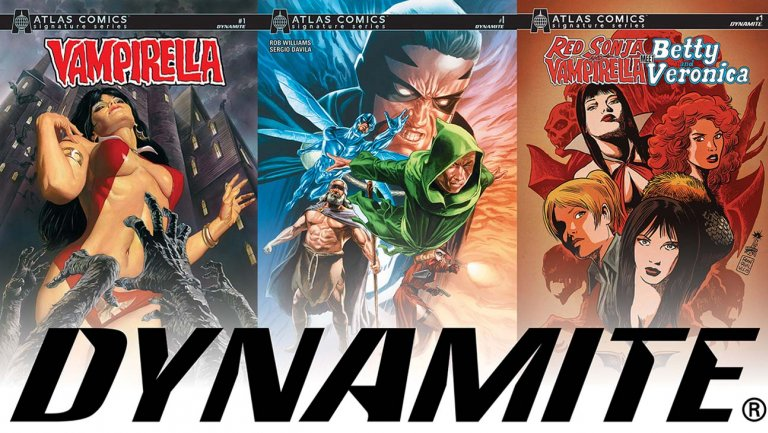 Dynamite Entertainment Atlas Comics