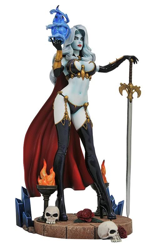 Femme Fatales Lady Death IV PVC Diorama