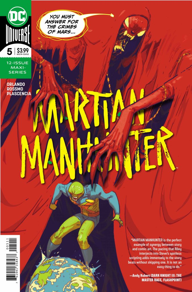 Martian Manhunter #5 (of 12)