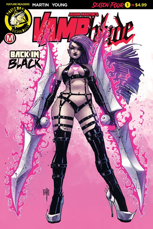VAMPBLADE SEASON 4 #1 (legacy issue #38)