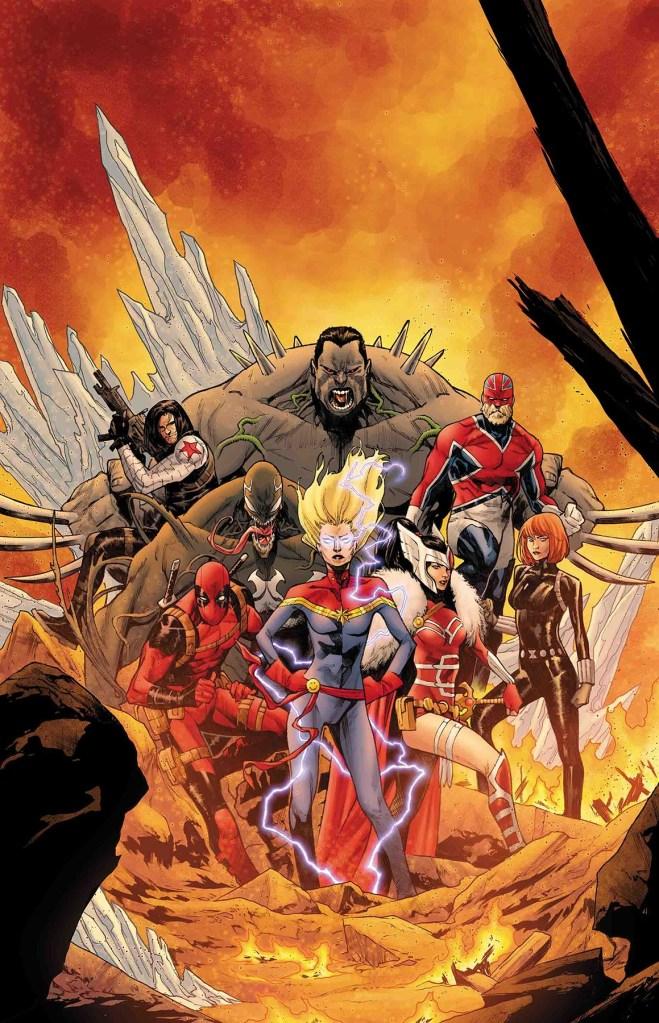War of the Realms: Strikeforce - War Avengers