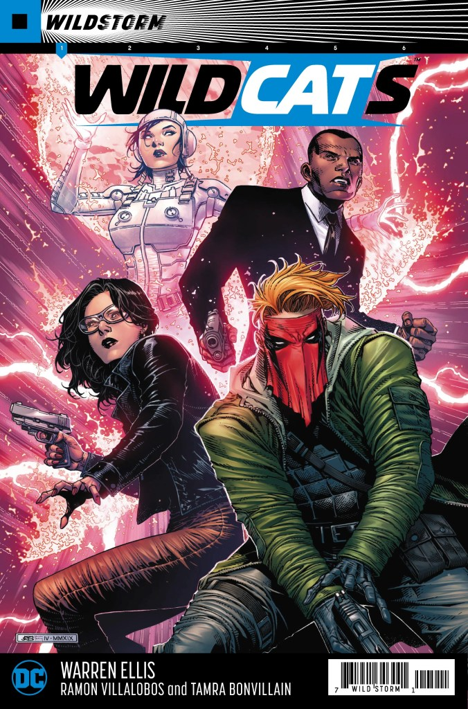 Wildcats #1 Main Cover by Jim Cheung and Tomeu Morey