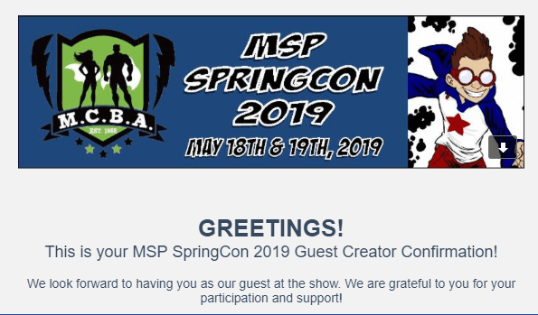 msp springcon confirmation