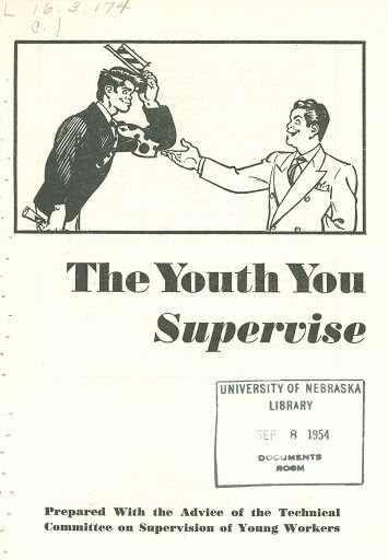 youth you supervise comic