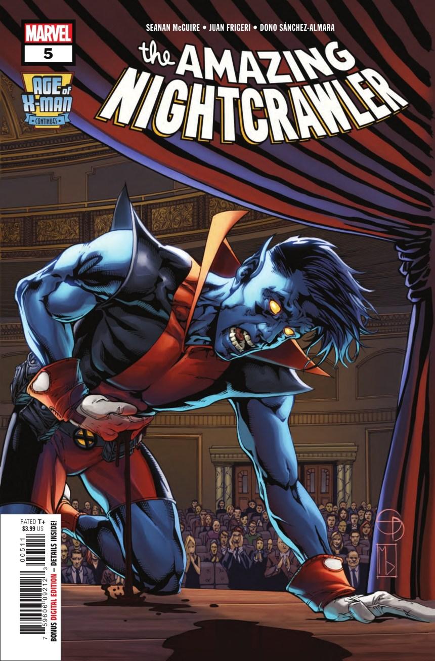 Age of X-Man: The Amazing Nightcrawler #5 (of 5)