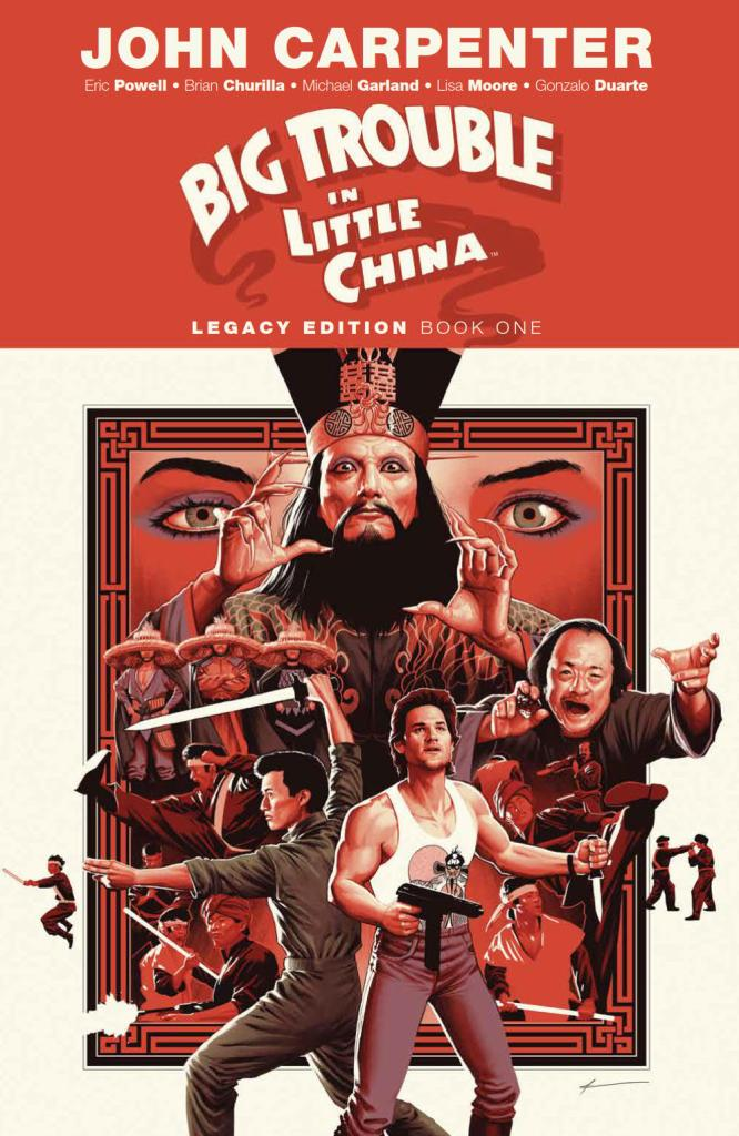 Big Trouble In Little China Legacy Edition Book One SC