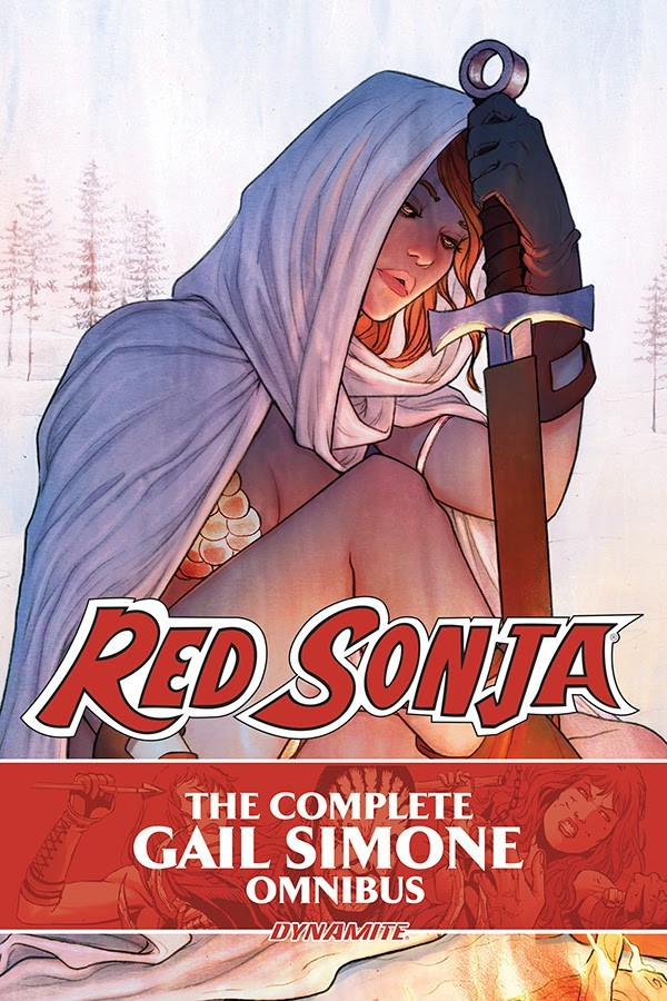 The Red Sonja by Gail Simone Omnibus
