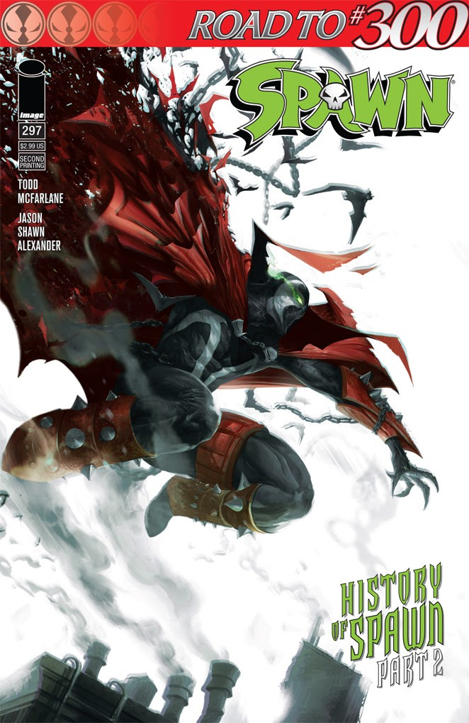 Spawn #297 second printing
