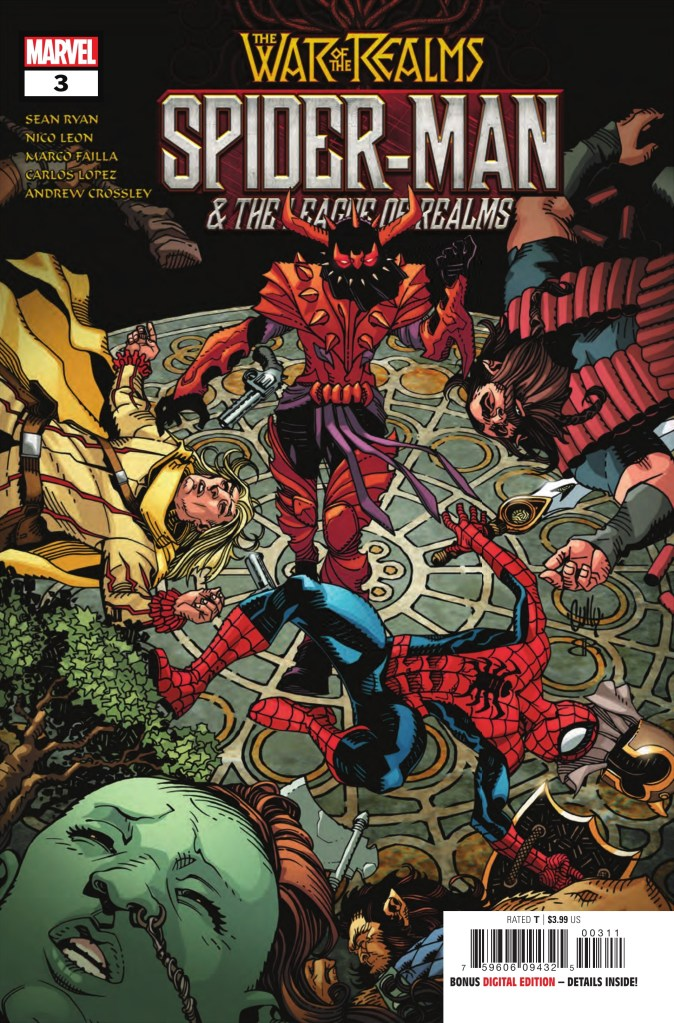 War of the Realms: Spider-Man and the League of Realms #3