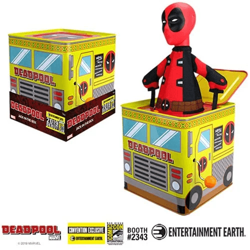 Deadpool Jack-in-the-Box - Convention Exclusive