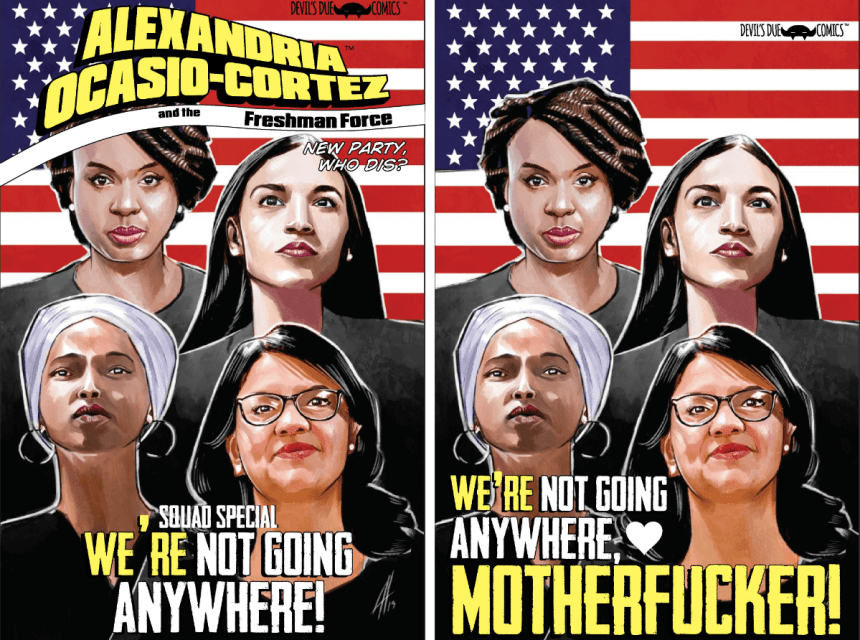 Alexandria Ocasio-Cortez and the Freshman Force: The Squad Special