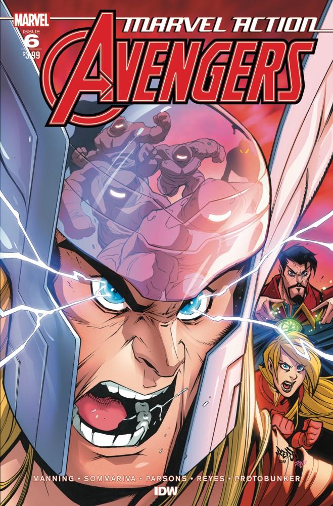 Marvel Action: Avengers #6
