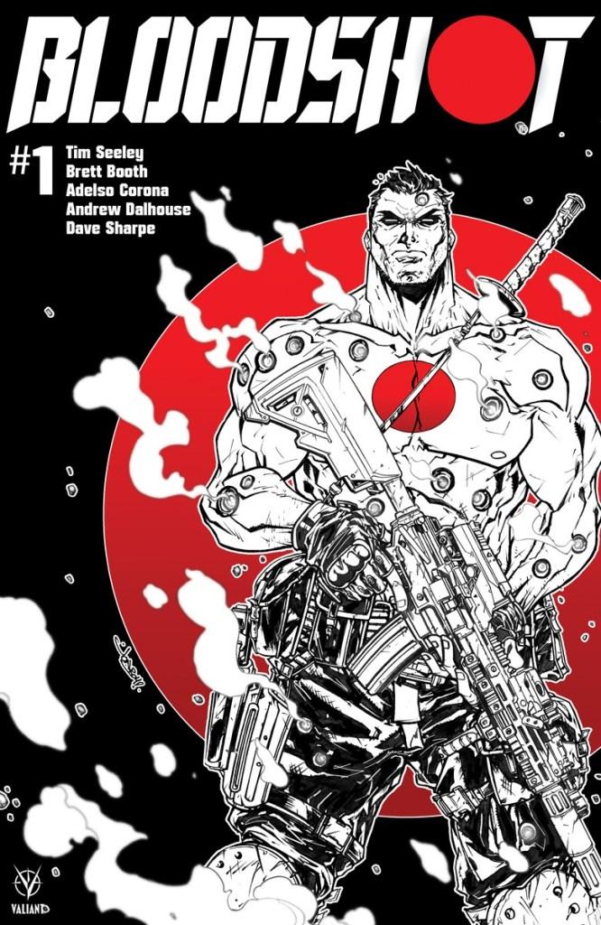 Tim Seeley Variant Cover Set BLOODSHOT #1 Limited to 150 2019