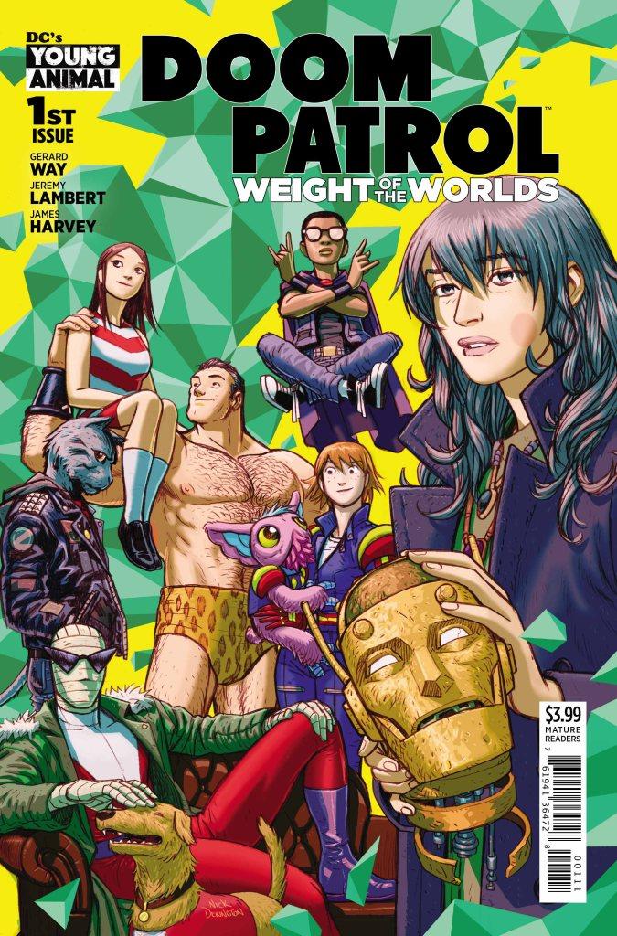 Doom Patrol: Weight of the Worlds #1