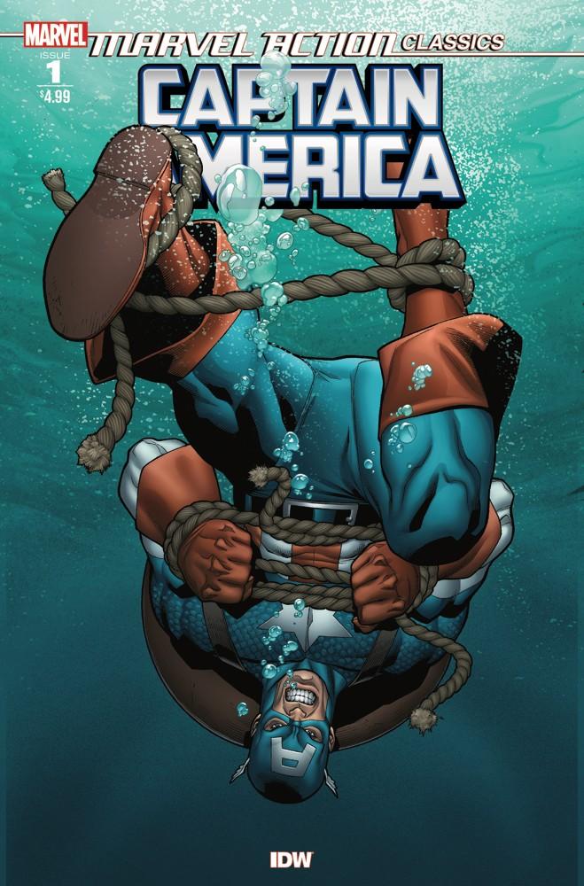 Marvel Action Classics: Captain America #1