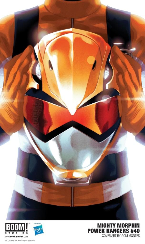 Mighty Morphin Power Rangers #40 variant