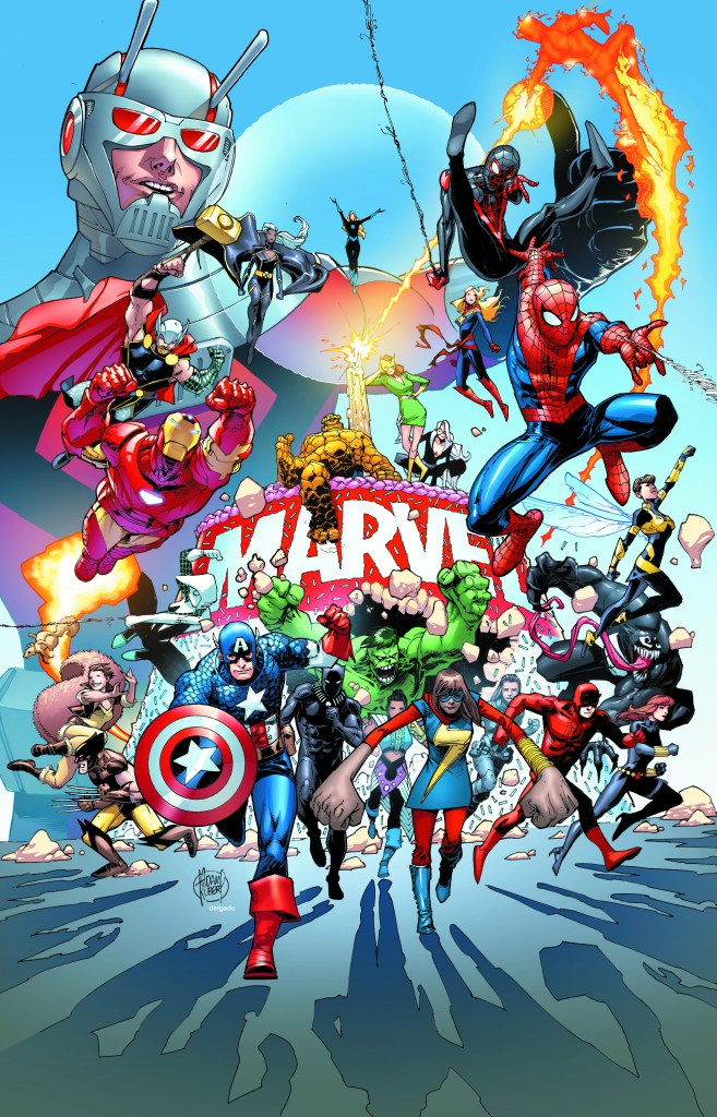 Marvel Comics Adam Kubert Poster