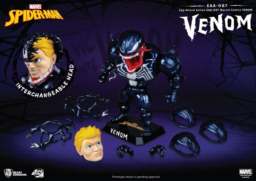 PREVIEWS Exclusive Marvel Comics EAA-087 Venom Action Figure