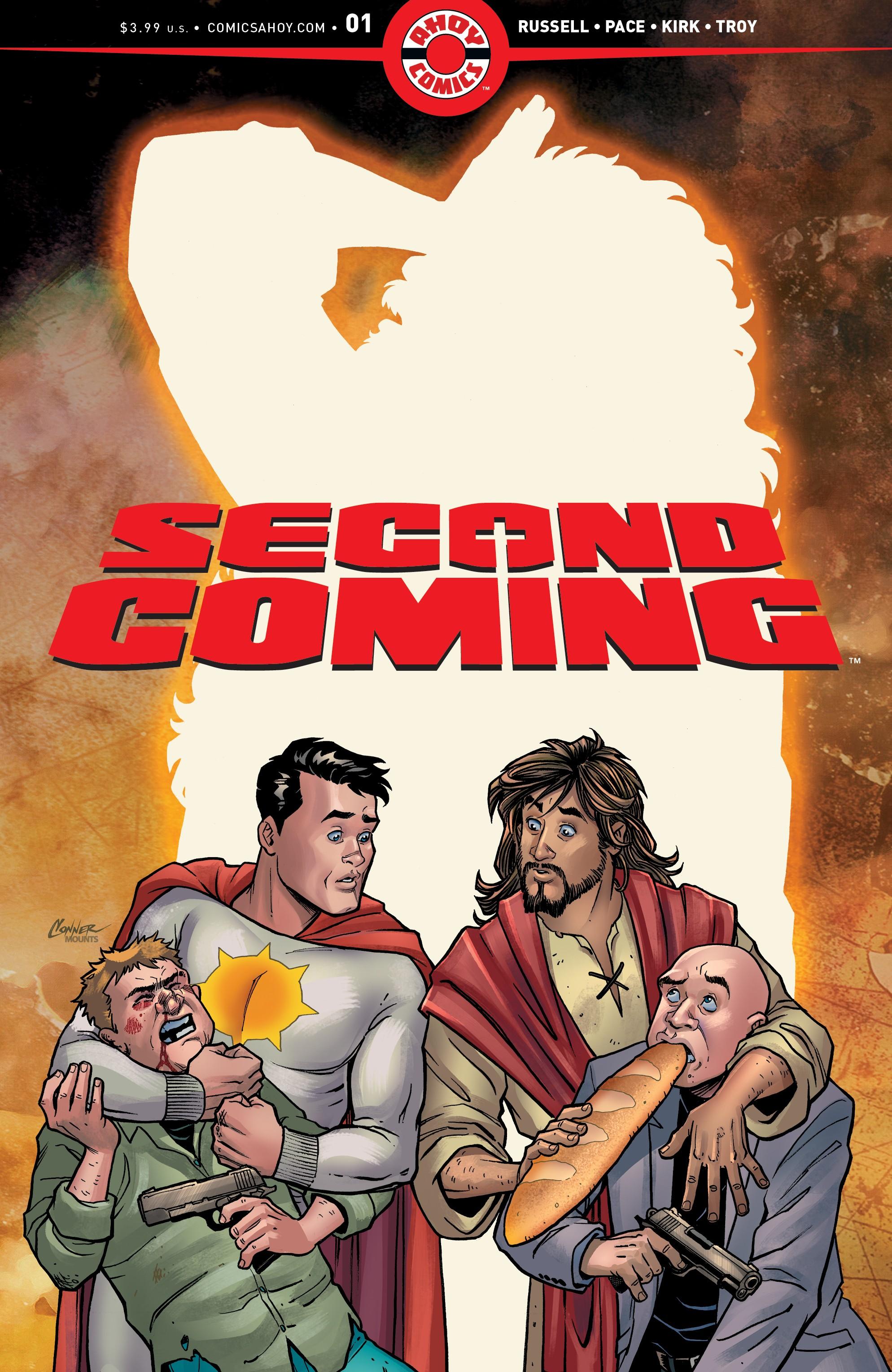 Richard Pace CVR B Second Coming #1 Ahoy Comics 2019 1st Print CONTROVERSIAL