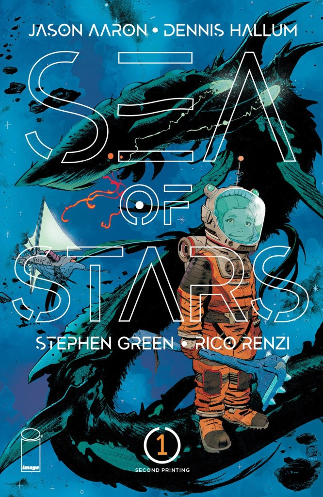 Sea of Stars #1, second printing