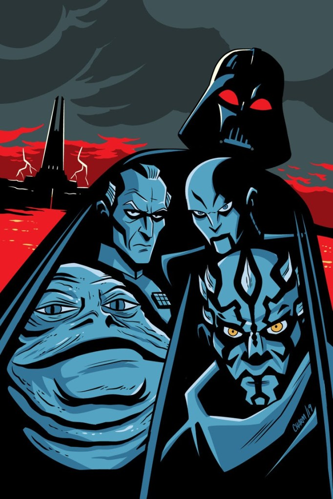 Star Wars Adventures: Return to Vader's Castle.