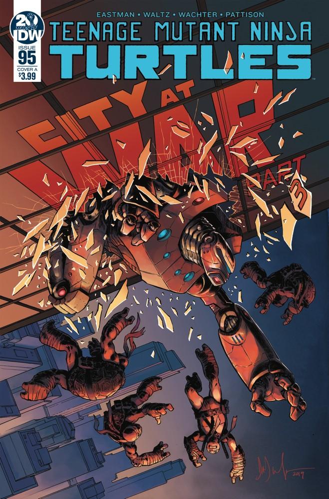 Teenage Mutant Ninja Turtles #95